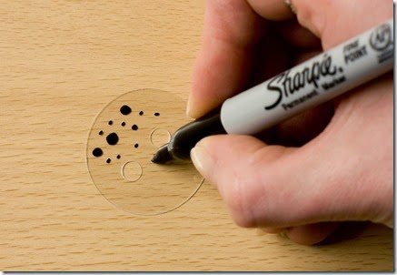 Shrink plastic button tutorial