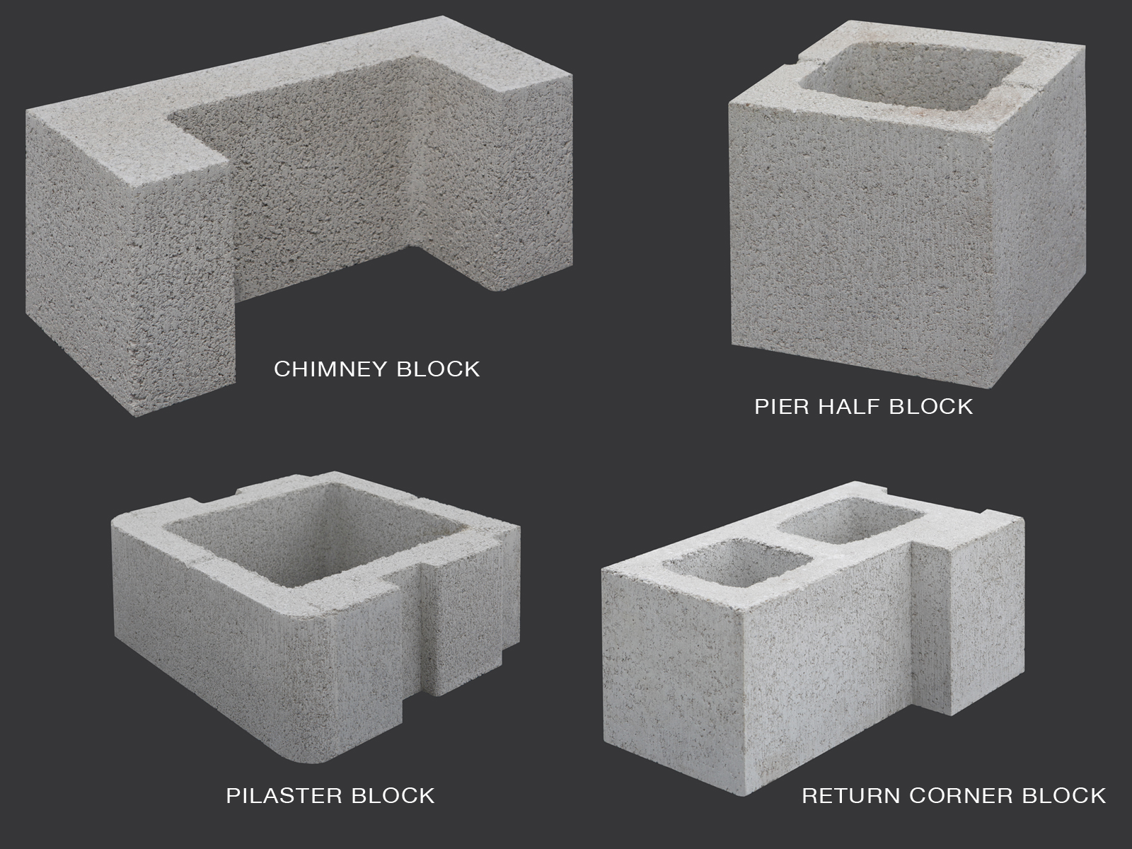 cement blocks types and sizes. Black Bedroom Furniture Sets. Home Design Ideas