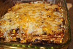 Quesadilla Casserole 3 - Joyful Momma's Kitchen