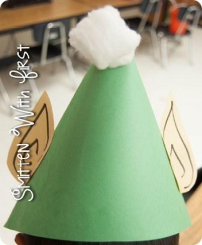 Contractions 2012-1; Christmas Elf Hat Craft