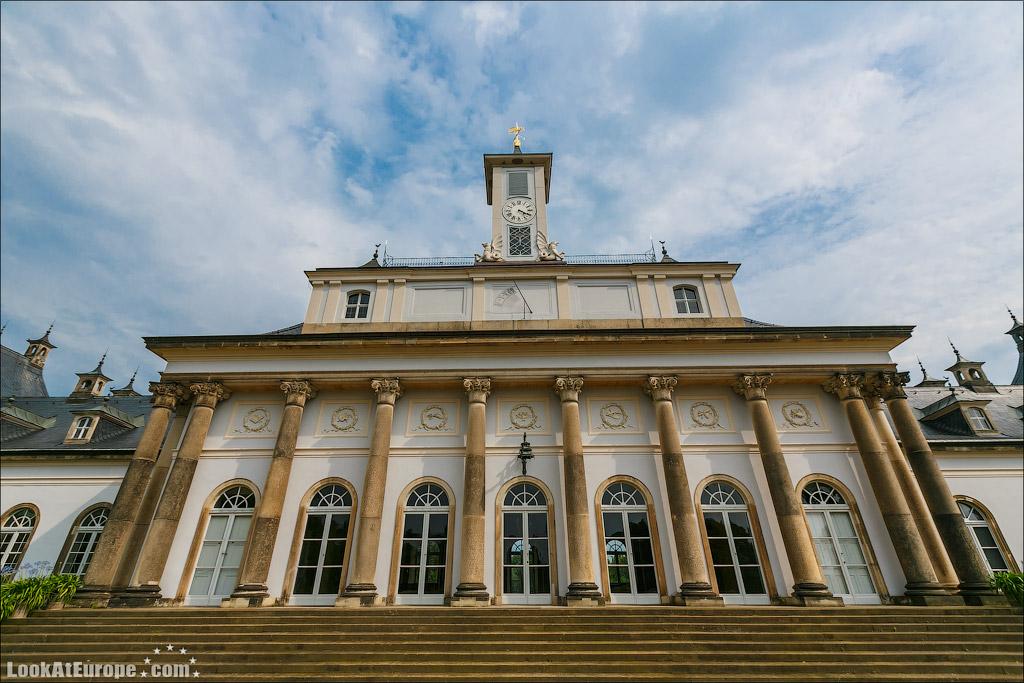 Дрезден, Пильниц, Водный дворец