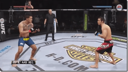 EA SPORTS UFC: Gameplay simula a luta de Jose Aldo versus Anthony Pettis
