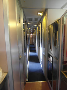 The hallways are quite narrow