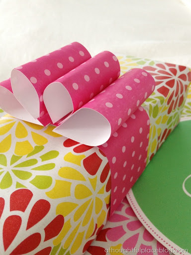 Creative Wrapping Make A Paper Bow A Thoughtful Place