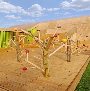 arboles de diseño Pabellón Español Floriade 2012