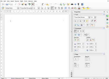 LibreOffice 4.1 introdurrà la nuova sidebar di Lotus