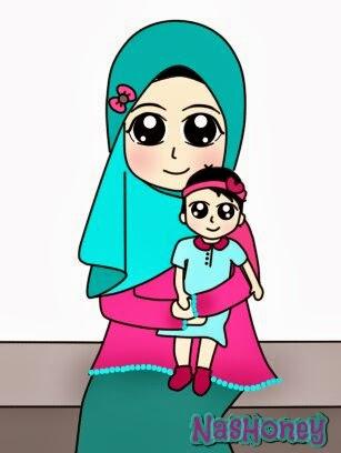 NasRina HoNey Doodle Emak dan Aisyah