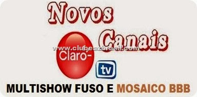 DOIS NOVOS CANAIS ENTRARAM NA CLARO HD TV