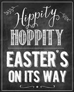 Clean and Scentsible - Hippity Hoppity Free Easter Printable
