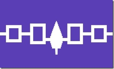 The Iroquois flag