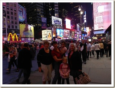 the gang good time square