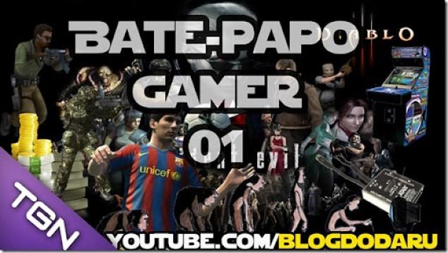 Bate-papo Gamer #01 - Fliperama - Evolução e Atualização dos Jogos