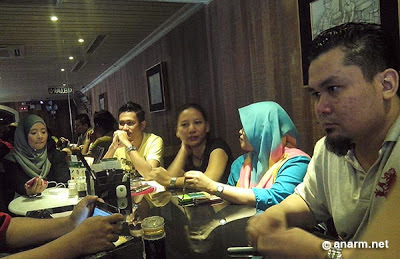Keputusan Contest Raya Moments Of Closeness With Samsung - bloggers yang hadir