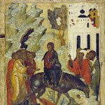 Вход в Иерусалим. XVI в.jpg