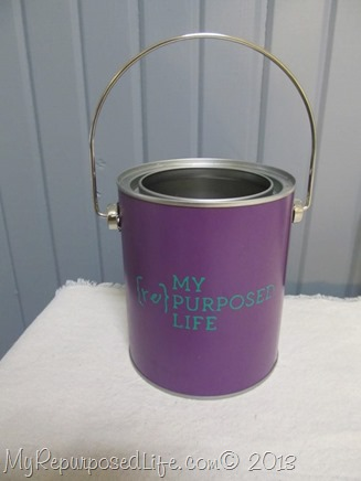 decorative paint bucket