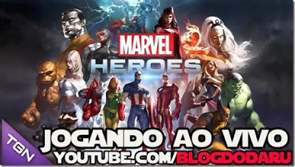 Marvel Heroes: Jogando AO VIVO