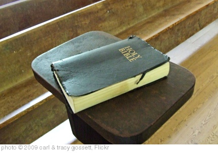'BIBLE IN OLD CHURCH' photo (c) 2009, carl & tracy gossett - license: http://creativecommons.org/licenses/by-nd/2.0/