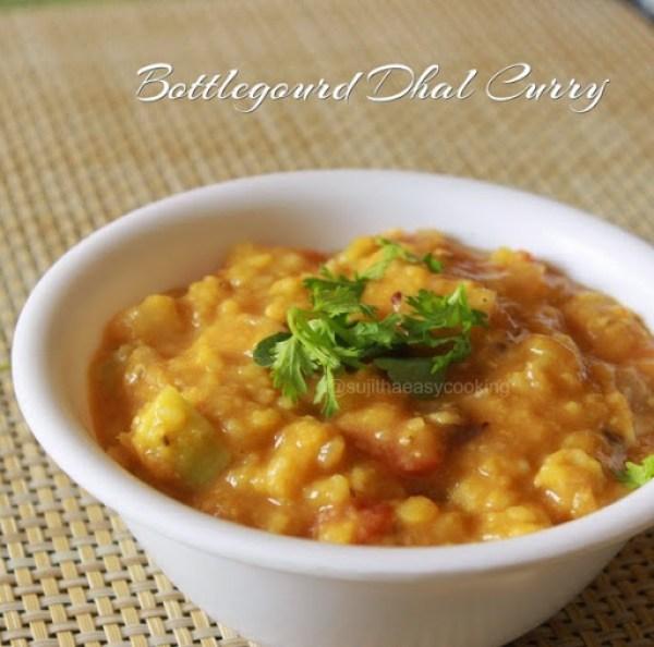 Bottlegourd Dhal Curry1