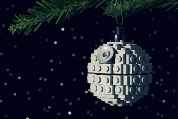 Death Star Christmas LEGO