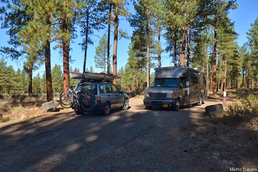 camping at Union Creek FS Campground