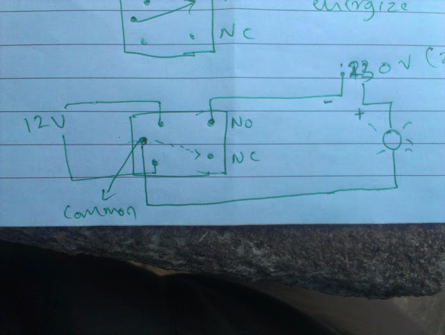 5 Terminal Relay Diagram