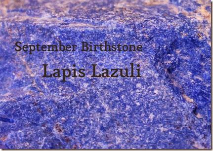 Lapis Lazuli September Birthstone