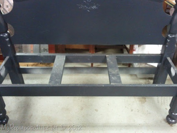 adding center braces for headboard bench seat