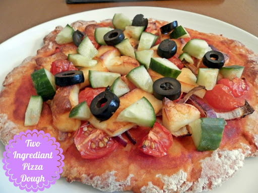 two ingrediant pizza dough total greek yoghurt
