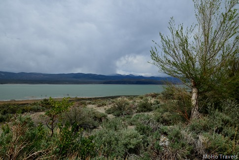 Mono Lake from the visitor center