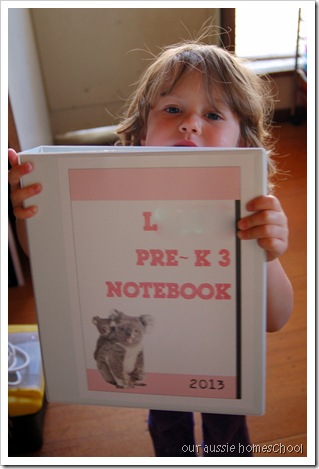 New Notebooks ~ Our Aussie Homeschool