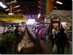 Inside the Don Wes Flea Market, Donna, Texas
