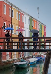 Fuji X10 as travel camera, in Burano Italy