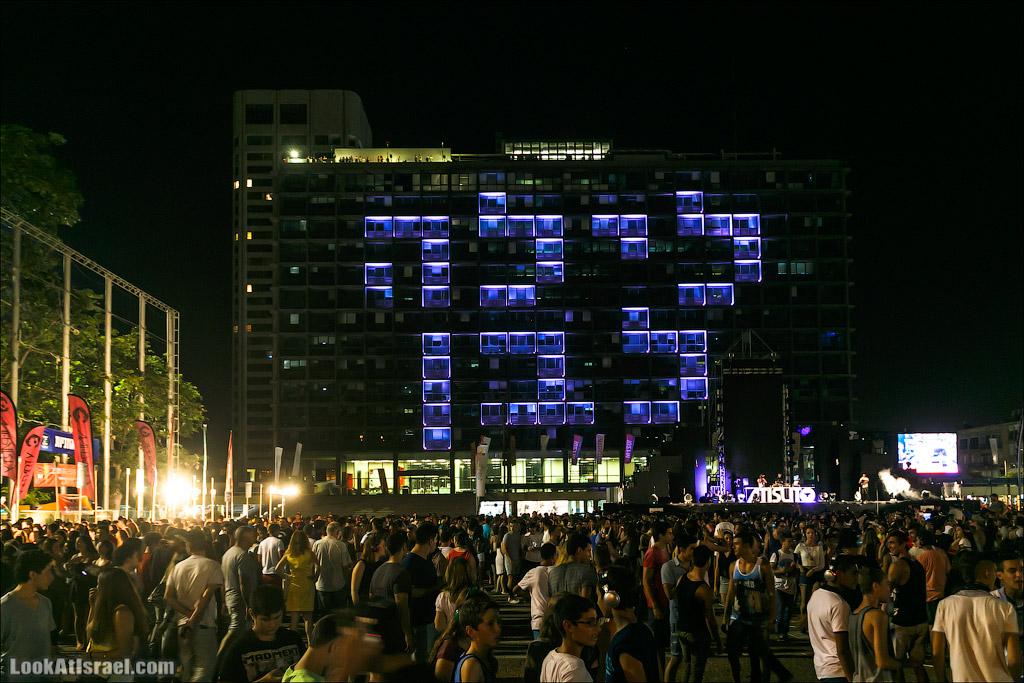 Белая ночь Тель Авива