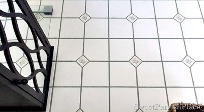 bathroom grout after7