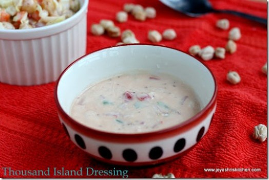 THOUSAND ISLAND DRESSING