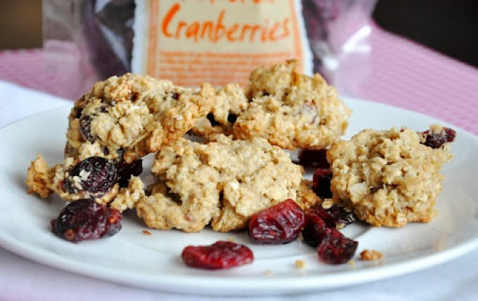 oatmeal cranberry orange pecan cookies 079