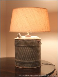 Life At Lydia's House: How To Make A Lamp From A Vintage ...