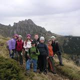 Pe Culmea Bratocea, in spate Tigaile Ciucasului