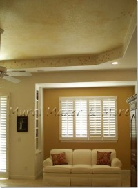 Becoming Bootylicious . . . painting a tray ceiling