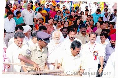 Sant Ramrao Maharaj at sevagadm, AP