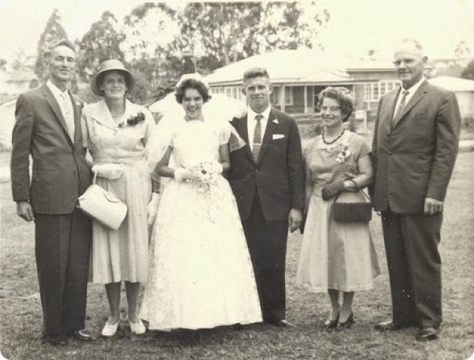 Busby smith wedding group 1961 001