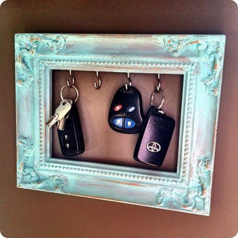DIY Christmas Gifts DIY Photo Frame Key Rack