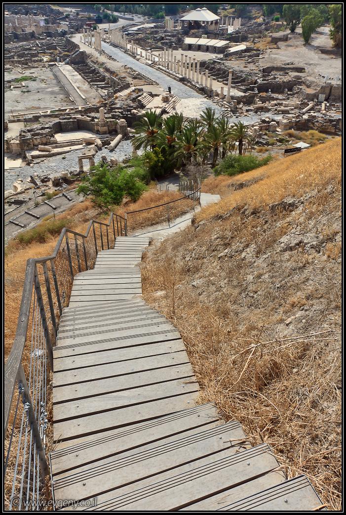 Бейт Шеан | Beit Shean |LookAtIsrael.com - Фото путешествия по Израилю