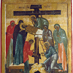 Снятие с креста. Середина XVI века