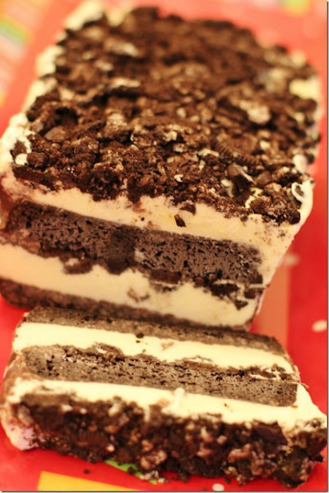 Cookies N Cream Ice Cream Cake-1
