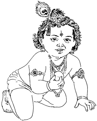 Clip Art Krishna