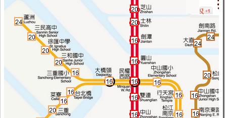工具邦 官方部落格: 臺北、高雄捷運路線圖、票價查詢