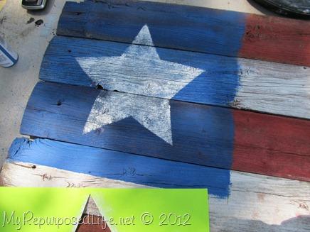 Americana Flag (Repurposed Fence) (22)