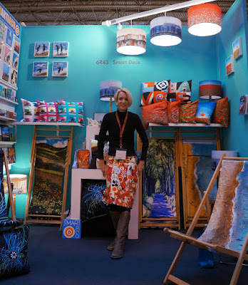 contemporary art inspired home and giftware range from British artist and designer Jacqueline Hammond