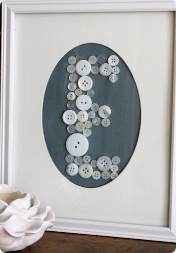 diy baby shower button art